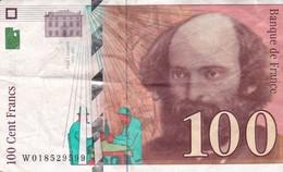 100 FRANCS CEZANNE 1997 / PAS DE TROUS - 1992-2000 Dernière Gamme