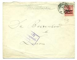 Belgique - Occupation 1914-1918 - OC3 Sur Lettre De Vroenhoven (Riemst) à Leuven  Censurée à Tongeren - Guerre 14-18