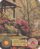 LOT 2 SOUS-BOCK STELLA ARTOIS - FLORALIES GANTOISES 1980 - GENTSE FLORALIEN - Portavasos