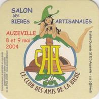 SOUS-BOCK CLUB DES AMIS DE LA BIERE - SALON D' AUZEVILLE 2004 - Beer Mats