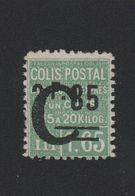 Faux Colis Postaux N° 116 2 F. 35 Sur 1 F. 65 Gomme Sans Charnière - Parcel Post