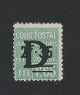 Faux Colis Postaux N° 141 2 F. 35 Sur 1 F. 65 Gomme Sans Charnière - Parcel Post