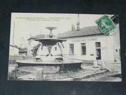 CEYZERIAT  / ARDT Bourg-en-Bresse 1910   VUE LA POSTE  / CIRC /  EDITION - France
