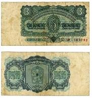 CECOSLOVACCHIA- CESKOSLOVENSKA REPUBLIKA- 3 KORUNY 1961- B ( 12/20) - Tchécoslovaquie