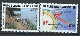 Gabon YT 697 + 702 XX / MNH - Gabon (1960-...)
