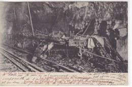 Paris - La Terrible Catastrophe Du Métropolitain - Station Des Couronnes - Paris Le 11 Août 1903 - Près De 400 Morts - Métro Parisien, Gares