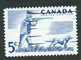 Canada 1957; Cane Da Caccia, Hunting Dog. Used - Cani