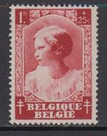 Belgie 1937  Prinses Josephine-Charlotte 1fr VARIETEIT (OCB 463-V1) ** Mnh (41637A) - Plaatfouten En Curiosa