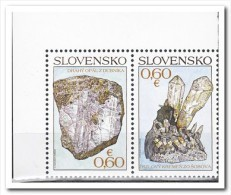 Slowakije 2013 Postfris MNH, Minerals - Slovakia