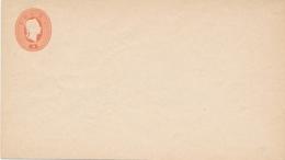 Lombardei Und Venetien - 5 Soldi Franz-Joseph Envelop - ND 1884 - Postwaardestukken