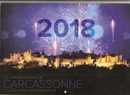 Calendrier 2018 -  Les Sapeurs-pompiers De Carcassonne -  Aude, France - Grand Format : 2001-...
