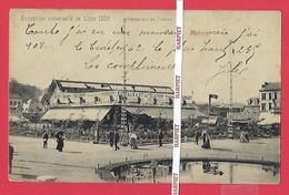 LIEGE - EXPOSITION UNIVERSELLE 1905  - Restaurant Du Trianon - Luik
