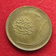 Turkey 5 Kurus 1922 / AH 1341 KM# 831  Turquia Turquie Turchia Turkije - Turquie
