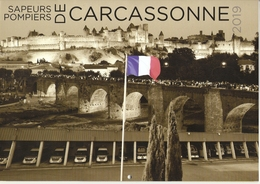 Calendrier 2019 -  Les Sapeurs-pompiers De Carcassonne -  Aude, France - Grand Format : 2001-...