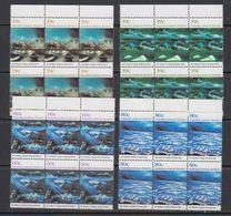 AAT 1989 Nolan Paintings 4v 6x ** Mnh (41639) - Australisch Antarctisch Territorium (AAT)