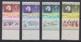 British Antarctic Territory 1971 Antarctic Treaty 4v (+margin) ** Mnh (41639B) - Ongebruikt
