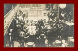 Carte Photo à Identifier * Cabaret Paris ? Cage    ( Scan Recto Et Verso ) - Lieux