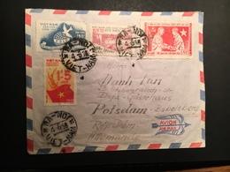 Vietnam Du Nord  Viet Enveloppe Cover 1958 - Viêt-Nam