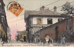 CPA French Post Office In Chefoo. Bureau De Poste De France à Tche-fou - Chine
