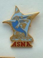 PIN'S ASNA - NATATION- ESPADON - EMAIL - Swimming