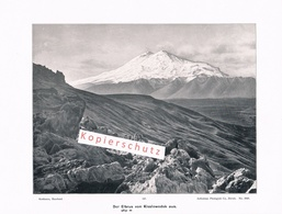 073 Konvolut 6 Bilder Kaukasus Elbrus Vor 110 Jahren !! - Documents Historiques