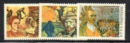 XP4039 - ALBANIA 1990 , Yvert Serie N. 2233/2235  ***  Van Gogh - Albania