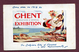 """GHENT  : """" INTERNATIONAL & UNIVERSAL EXHIBITION """"  1913 - Gent"""