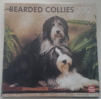 Calendrier 2012 -  Chiens, Bearded Collies - Ed. Brown Trout - Grand Format : 2001-...