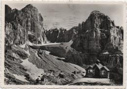 San Lorenzo In Banale (Trento): Rifugio S.Agostini E Chiesetta Alpina In Val Di Ambiez. Viaggiata 1955 - Trento