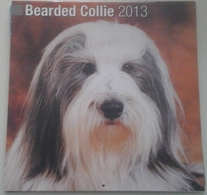 Calendrier 2013 -  Chiens, Bearded Collies - Ed. Avonside Publ. - Calendriers