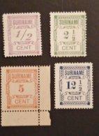 Suriname - Nrs. 65/68a * - Surinam ... - 1975