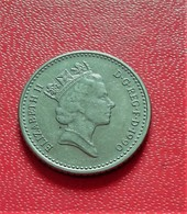 ANGLETERRE 5 FIVE PENCE DE 1990 ELIZABETH II (B3 - 34) - 1971-… : Monnaies Décimales