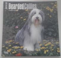 Calendrier 2014 -  Chiens, Bearded Collies - Ed. Brown Trout - Calendriers
