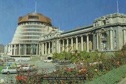New Zealand - Parliament Building - Wellington [AA34-4.480 - New Zealand