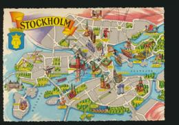Stockholm - TOPO [AA34-4.606 - Suède