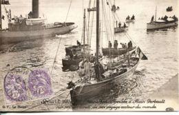 N°68743 -cpa Le Havre --arrivée D'Alain Gerbault - Le Havre