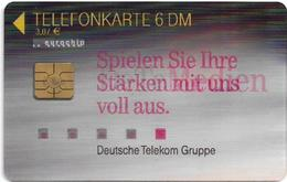 Germany - DeTeMedien (3D Card) - K 0008 - 08.99, 6DM, 10.000ex, Used - Deutschland