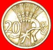 # SICKLE (1921-1938): CZECHOSLOVAKIA ★ 20 HELLER 1928! LOW START ★ NO RESERVE! - Czechoslovakia