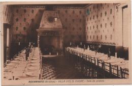 Rovagnate (La Valletta Brianza, Lecco): Villa Del Sacro Cuore, Sala Da Pranzo. Formato Piccolo Viaggiata 1928 - Lecco