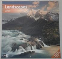 Calendrier 2018 -  Paysages, Landscapes - Ed. Art 12 - Calendriers