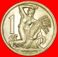 # HARVEST (1922-1938): CZECHOSLOVAKIA ★ 1 CROWN 1937! LOW START ★ NO RESERVE! - Tchécoslovaquie