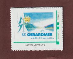 Timbre Adhésif  émis à L'occasion Des 50 Ans Du Club Philatélique De Gérardmer Vosges En 2013 Lettre Verte 20g. - France