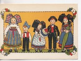 Cpa.Illust Signée.Hansi.L'Alsace Merveilleuse De Hansi.Costumes - Hansi
