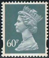 GB 1994 Yv. N°1779 - 60p Vert-gris - Neuf ** - Machin-Ausgaben