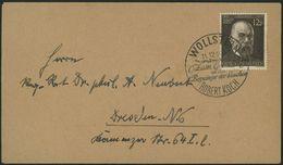 DT.REICH, NR. 864, ROBERT KOCH, BRIEF MIT SST WOLLSTEIN - Allemagne