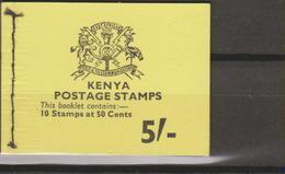 Kenya 1977 Libretto 5/- Cpl MiN°100 MNH - Kenia (1963-...)
