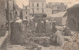 CPA - Marché Aux Sabots - Bretagne - Marchés