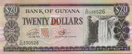 1996 Guyana 20 Dollar Banknote P#30 - Guyana