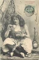 -ref-B218-  Illustrateurs - Illustrateur Bergeret - Nancy - Les Boissons - Le Cafe - Femme - Femmes - Carte Bon Etat - - Bergeret