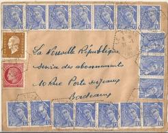France Lettre Affranchie - France